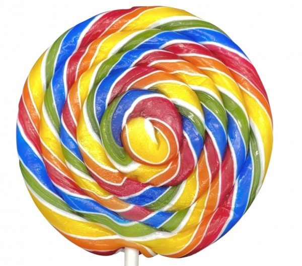 Spiral Lolly Exotic 80g