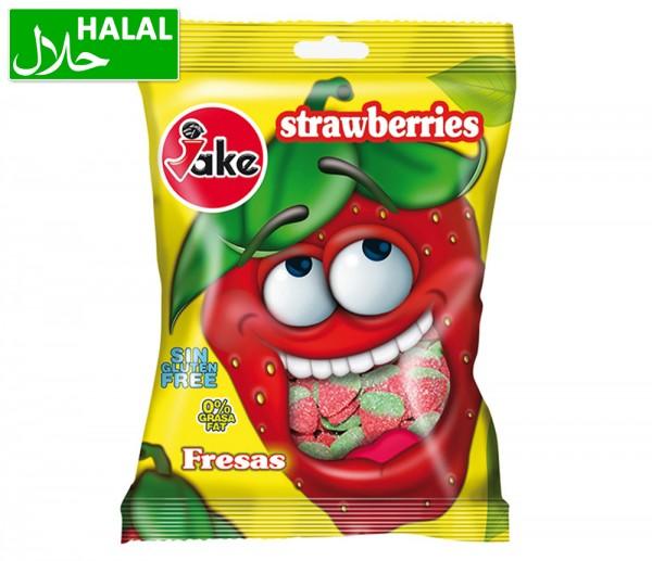 Jake Fruchtgummi Erdbeeren sauer