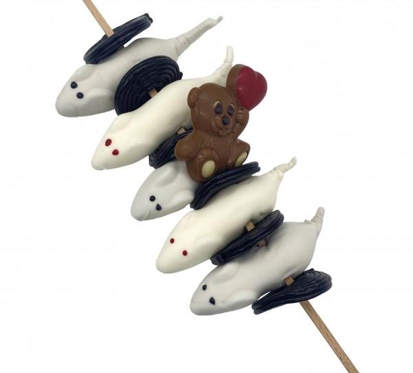 Mäuse Love-Spieß Lakritzschnecke