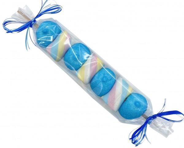 Mallow-Spieß blau