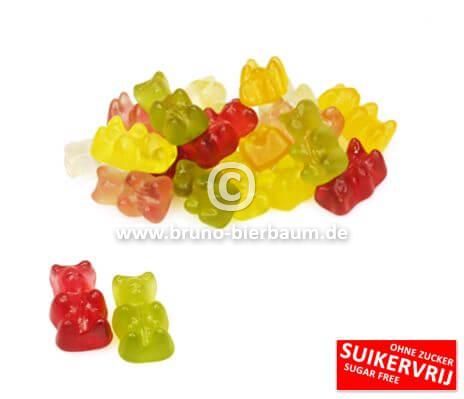 Zuckerfreie Weingummi Bären