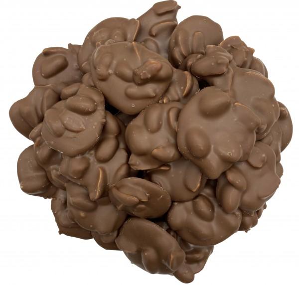 Geröstete Erdnüsse Vollmilch