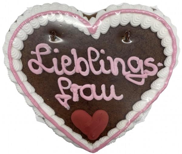 "Lebkuchenherz ""Lieblingsfrau"""