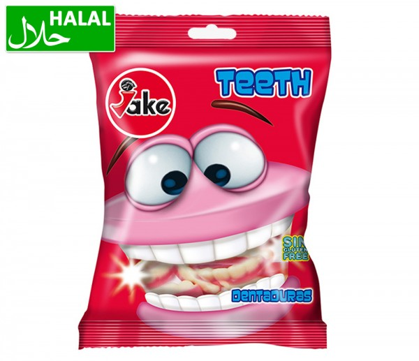 Jake Fruchtgummi Zähne