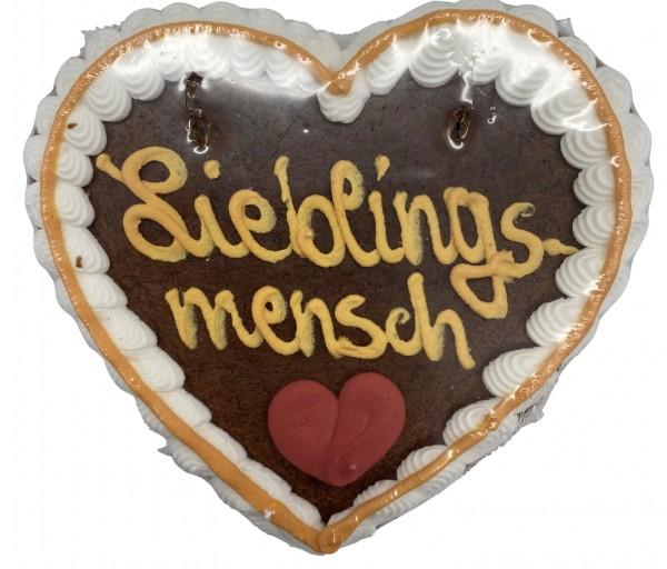 """Lebkuchenherz """"Lieblingsmensch"""""""
