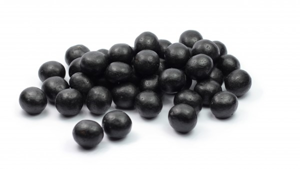 Schwarze Kanonenkugeln 250g