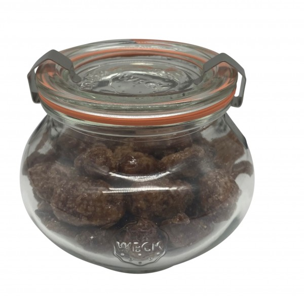 Gebrannte Mandeln im Glas