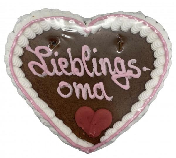 """Lebkuchenherz """"Lieblingsoma"""""""