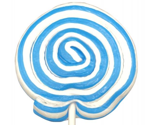 Spiral Lolly Türkis/Weiss 80g