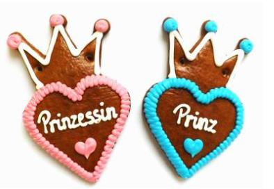 Prinz & Prinzessin mit Krone 1012