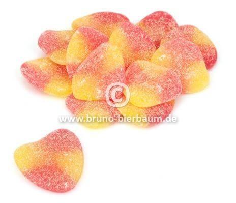 Pfirsichherzen sauer 250g